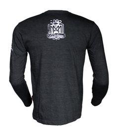 Longsleeve 'Logo' - tył ---> Streetwear shop: odzież uliczna, kibicowska i patriotyczna / Przepnij Pina!