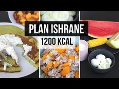 Plan ishrane 1200 kcal - YouTube Healthy Diet Plans, Healthy Recipes For Weight Loss, Healthy Meal Prep, Healthy Eating, Weight Loss Eating Plan, Eating For Weightloss, Tuna Recipes, 1200 Calories, Pesto Recipe