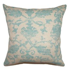 Kabala Floral Throw Pillow Cover (Size), Multi, Size 18 x 18 (Fabric)