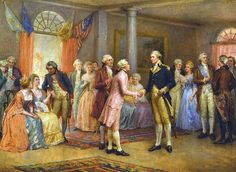 Washington greeting Lafayette at Mt.Vernon >> IM SORRY WHAT THE FUCK ARE YOU WEARING LAF??? JESUS CHRIST WHAT A FUCKIN GAY I LOVE HIM ,, THE PASTEL PINK SATIN SUIT,,, #ICONIQUE