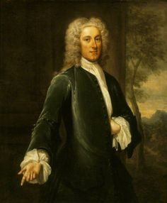 Portrait of Thomas Hill (formerly Harwood) (1693–1782) c.1722 by John Smibert (Scottish 1688–1751)