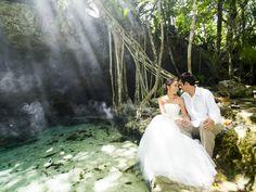 神秘の泉セノーテウエディング | Magical Secret Cenote Wedding | Read more: http://www.storymywedding.com/magical-secret-cenote-wedding/ # 海外ウエディング #セノーテ #destinationwedding