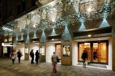 Opernhaus Theater an der Wien, Außenansicht, Glasdach