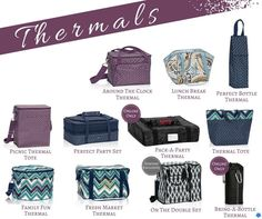 Fall 2015 Thirty One Gifts Thermals