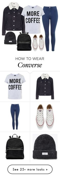 Untitled #636 by ashleyxx67 on Polyvore featuring Topshop, Elizabeth and James, Converse, women's clothing, women's fashion, women, female, woman, misses and juniors