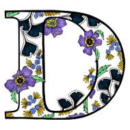 The letter d | Letterplayground.com