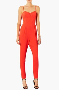 Topshop Spaghetti Strap Jumpsuit available at #Nordstrom