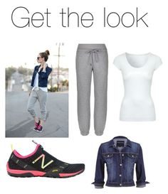 A fashion look from August 2015 featuring scoop neck t shirt, cropped jean jacket and cuff sweatpants. Browse and shop related looks. Jane Norman, Cropped Jeans, Get The Look, Neck T Shirt, New Balance, Stella Mccartney, Scoop Neck, Fashion Looks, Sweatpants