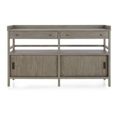 Brookline Grey Sideboard | Crate and Barrel