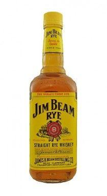 Jim Beam Straight Rye Whiskey - DrinkFinder - for manhattans
