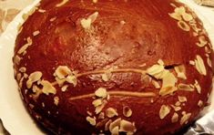 New Year's Cake from Constantinople (Vasilopita Politiki) - iCookGreek Greece Food, Greek Sweets, New Year's Cake, Greek Cooking, English Food, Dessert Recipes, Desserts, Greek Recipes, Greece