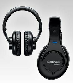 e07666ae214 The SRH440 Professional Studio Headphones from Shure provide exceptional  sound reproduction and comfort. Optimized for