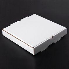 "10"" x 10"" x 1 3/4"" Corrugated Plain Pizza / Bakery Box 50/Case 10.56"