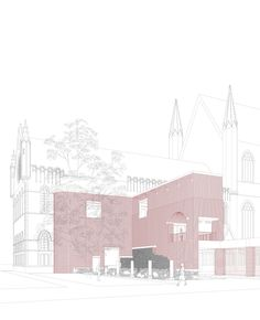 St Martin's Cathedral, Ypres, Belgium - DRDH architects
