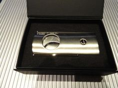 Porsche Design  P3600 Cigar Cutter in Silver Satin Model Number # 51150