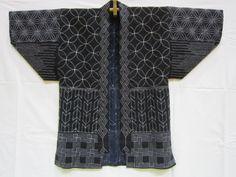 Indigo Shibori Kimono . . .