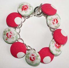 Cath Kidston Button Bracelet