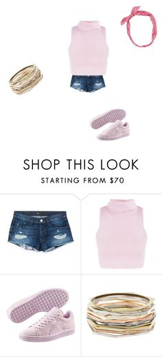 """Untitled #26"" by adellashaqnaz on Polyvore featuring 3x1, Puma, Kendra Scott and Carole"