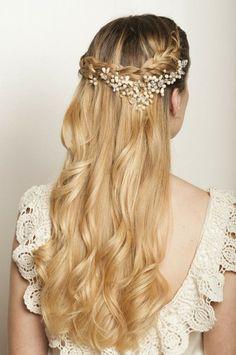 Peinado Semirecogidos Con Trenzas Celi Ithurralde Peinados