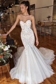 The ultimate mermaid bridal gown by Privée Civil Wedding Dresses, Sexy Wedding Dresses, Wedding Attire, Bridal Dresses, Wedding Gowns, Prom Dresses, Mermaid Gown, Mermaid Dresses, Mermaid Bridal Gowns