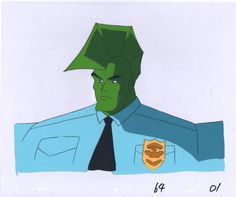 Savage Dragon Production Animation Cell Universal 1995-6