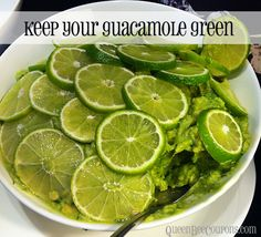 How to keep your guacamole from turning brown