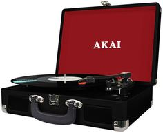 AKAI ATT-41- ElectroStudio Turntable, Gadget, Suitcase, Music Instruments, Record Player, Musical Instruments, Gadgets, Briefcase