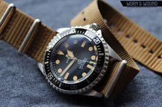My gorgeous new watch, Steinhart Ocean Vintage Military