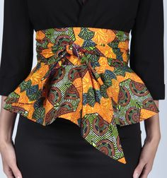 african print peplum skirts - Google Search