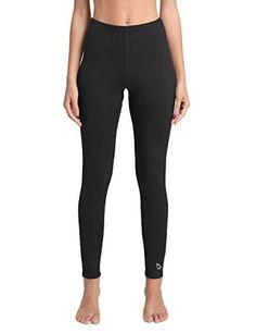 ccfbd5ed6b9ee Baleaf Women's Heavy Weight Thermal Leggings Tights Fleece Lined Winter  Base Layer Underwear