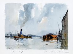 Image result for Edward Wesson watercolor