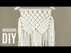 How To Make Easy Macramé Wall Hanging | Wall Decor Tutorial | DIY - YouTube
