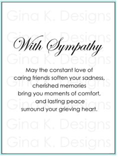 85 best cards sympathy images on pinterest proverbs quotes with sympathy duo gkdd44 m4hsunfo
