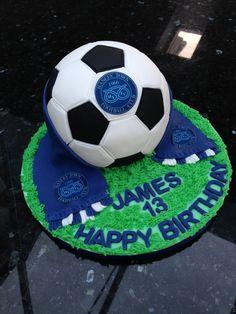 Hanley Town FC Football Cake