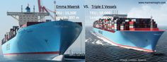Great Giant Container ships by Maersk    www.marineinsight.com