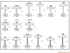 1000 images about medidas on pinterest mesas google for Colchones medidas standard