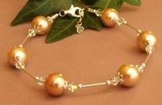pearl bracelet, jewelry making
