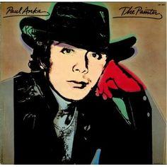 Paul Anka The Painter Album Cover, Andy Warhol Original