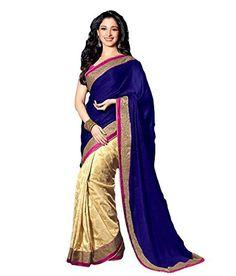 Janasya-Women-Georgette-Saree-JNE0644Colour-BlueColour-BlueFree-Size-0