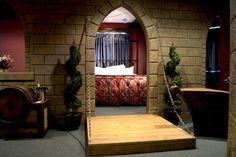 The Camelot Room at Chateau Avalon in Kansas City, Kansas.
