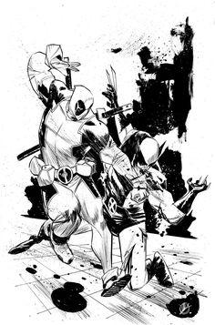 Sketch 318 - Boston Comic Con by MatteoScalera