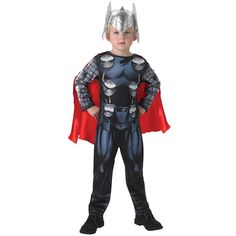 Travel between galaxies and create powerful lightening bolts with our Child Avengers Assemble Thor Costume. Become the Asgardian God of thunder and help earth against your evil brother Loki with this highly detailed costume. Superhero Fancy Dress, Childrens Fancy Dress, Boys Fancy Dress, Superhero Party, Marvel Avengers, Superhero Books, Book Week Costume, Super Hero Costumes, Overall
