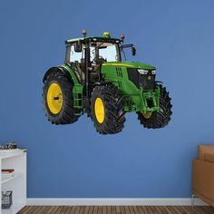 Fathead John Deere 6210R Tractor Wall Decal - 1087-00002