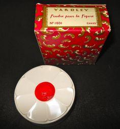 Vintage Yardley Complextion Powder Mint Unused