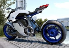 Plausible BMW fuel cell motorcycle concept [w/video] picture - doc350501