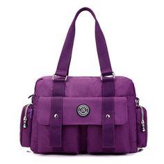 Women Nylon Waterproof Tote Handbags Casual Outdoor Duffle Bags Shoulder Bags Crossbody Bags //Price: $59.98 & FREE Shipping //     #women watch  #Legging  #Jewelry  #Dresses  #Ring  #Yoga Pants