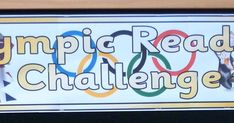 By Elaine Pearson     Joanne Shaw  created these wonderful banners for our Olympic Reading Challenge.   Have a look at more gre...