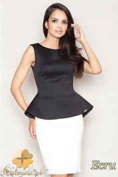 Dopasowana spódniczka ołówkowa mini marki FIGL.  #cudmoda #moda #ubrania #odzież #clothes