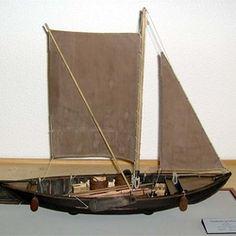 Elbe Vierländer Gemüse-Ewer,  modell.   Arbeitskreis historischer Schiffbau e.V.