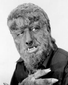 The Wolfman-from the Universal monster movies of the 1930's